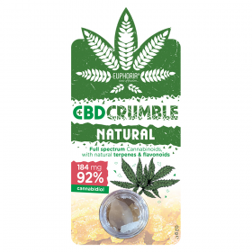Euphoria CBD Crumble Natural 184 mg